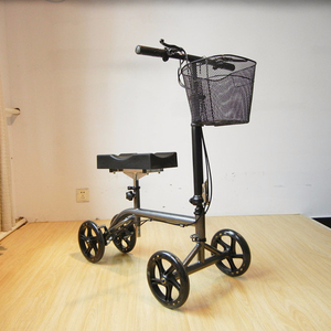 Steel One Leg Knee Walker Scooter for Broken Ankle