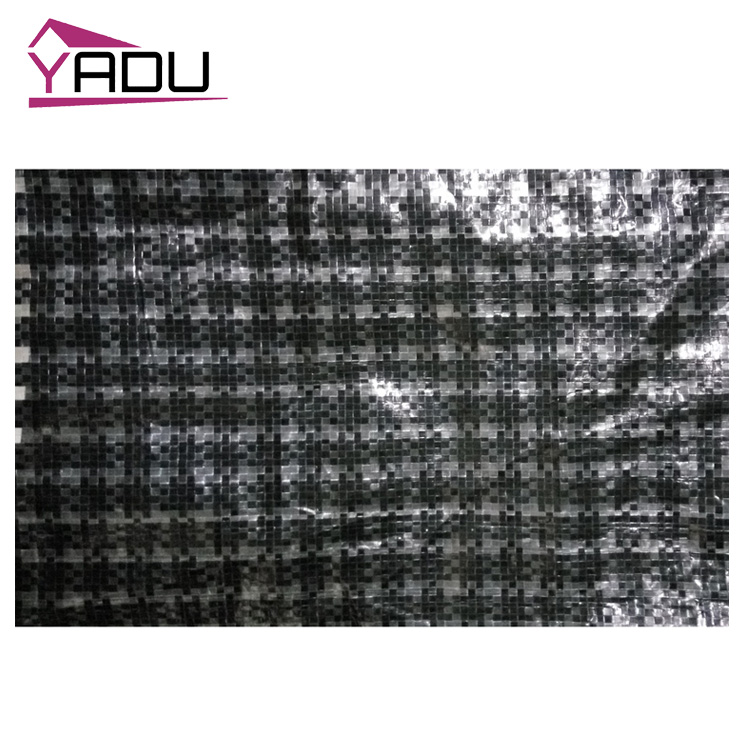 PE Black and White wholesale suppliers roof tarpaulin for trucks