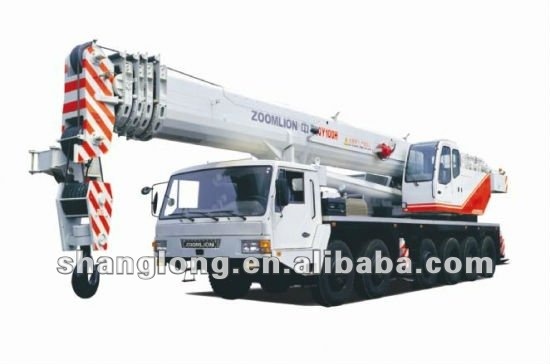 Qy100h-3 Zoomlion Made In China Mobile Crane 100 Ton