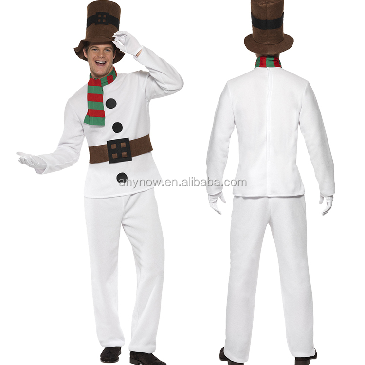 Cosplay snowman Halloween Carnival adult Christmas Costume for Man fancy dress
