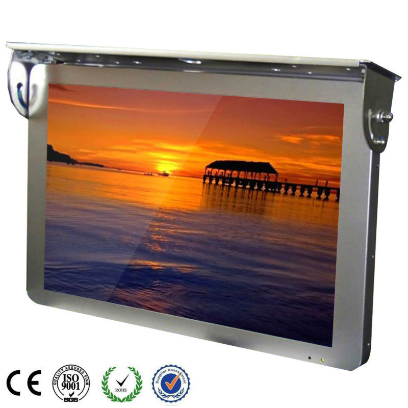 15 Inch Bus LCD Signage Ad Player