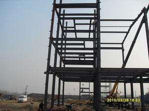 multi-storey steel structure building