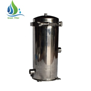 Stainless Steel 40 Inch 1 Micron PP Cartridge Filter Housing