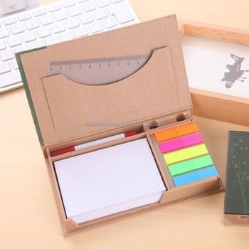 Custom sticky notes with calendar memo note sticky pad with page marker