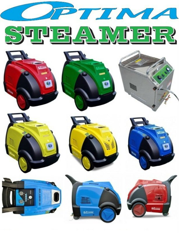 sje] Optima Steamer The Efficient Steam Pressure Washer