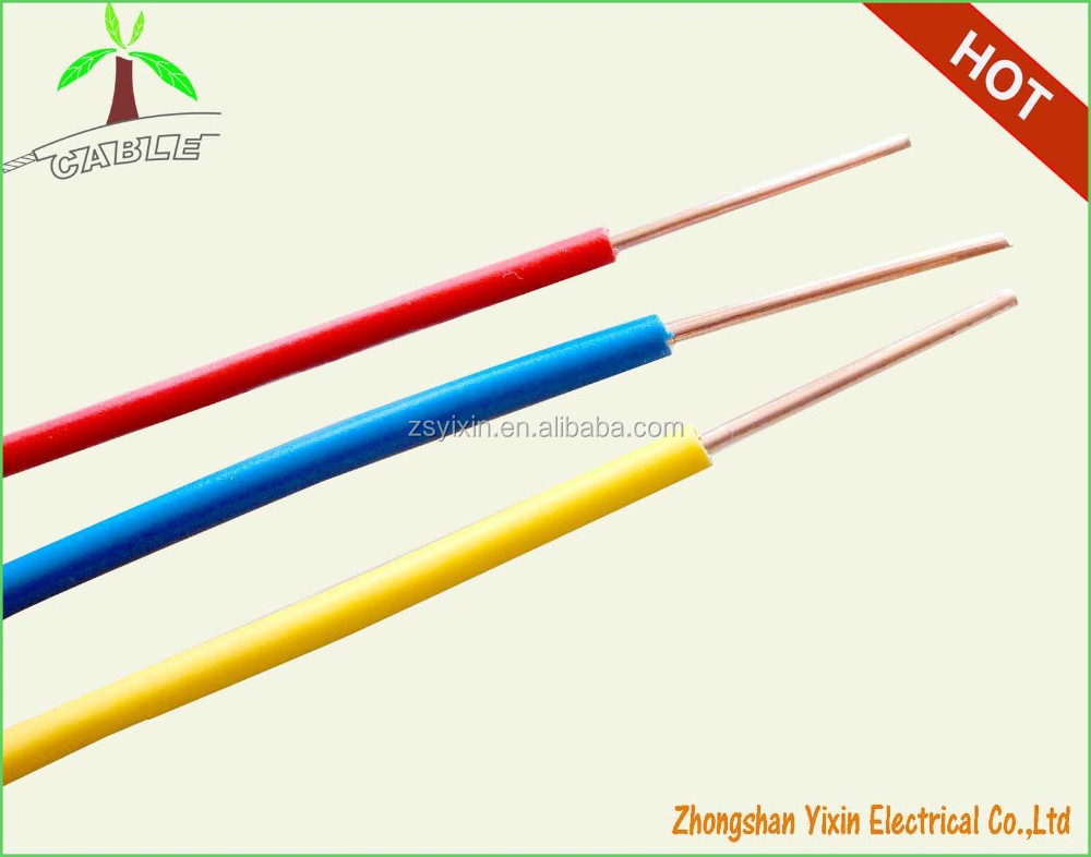 Single Core Cable Solid Or Strand Electrical Cable Wire,House Wiring ...
