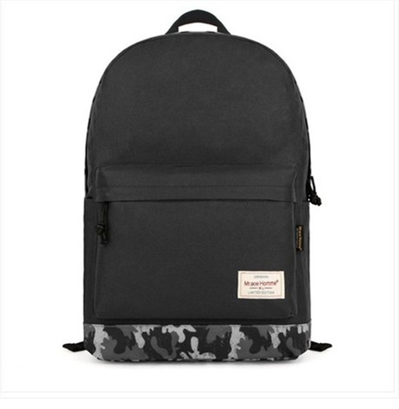 6d3abf1db33a Get Quotations · Backpack For High School Women s Casual Men Canvas Black  Canvas Backpack School Bag For Teenager Girls