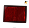 Universal Round Reflector Motorcycle Motorbike Cars Red Reflector KM203