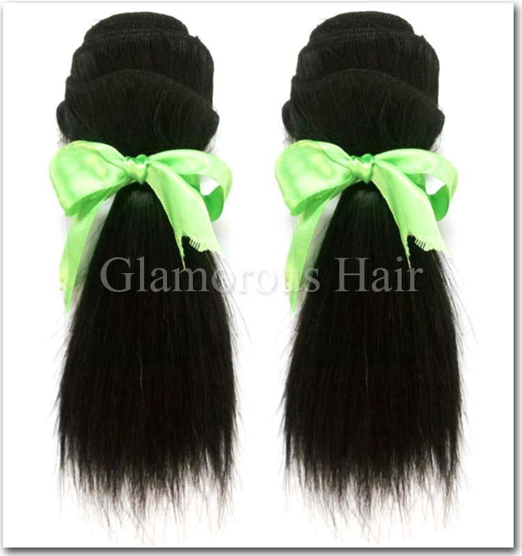 Top Quality 6inch Short Hairvirgin Peruvian Human Hair Weavevirgin