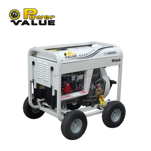 Single phase 7kva diesel generator