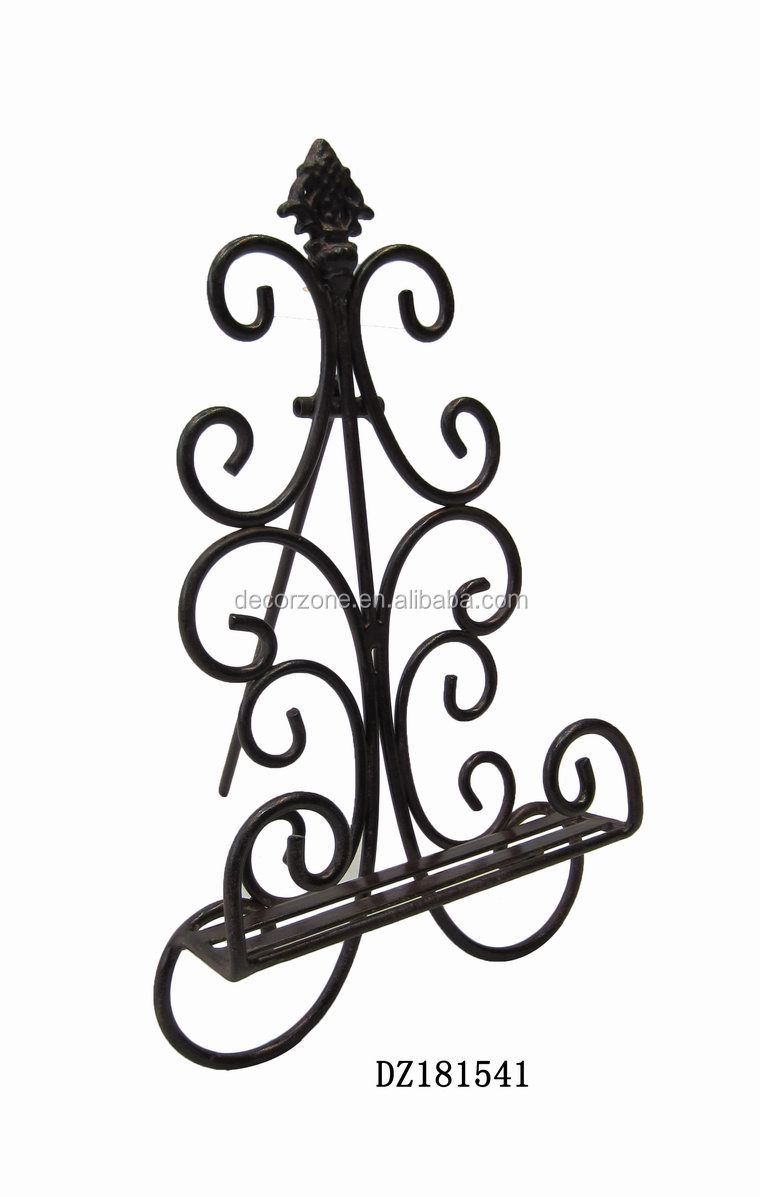 Metal Wrought Iron Easel Stand For Plate Product On Alibaba