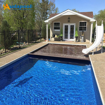 Hot Sale 4mx10m Customized Pool Cover,Swimming Pool Cover Keep Your Pool  Clean - Buy Swimming Pool Cover,Automatic Pool Covers Slats,Pvc Cover  Product ...