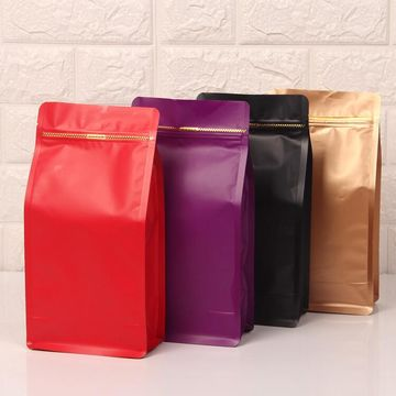High Quality Zipper Eight Seal Plastic Bag 9