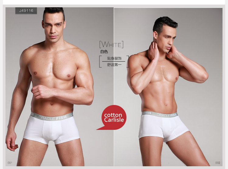 Wholesale Hot Sale Sexy ORACLE FISH Cotton Men's Underwear 7colors ...