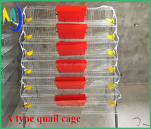 High quality A type galvanized wire quail cage all accessories 320 quail per set