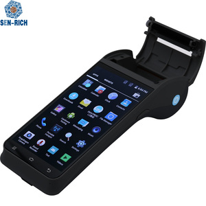 EMV PCI 4G Handheld AndroidTouch Screen Mobile Pos with Printer z91