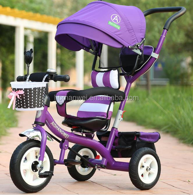 China Good New Models manwei Baby Tricycle/Premium quality and custom design Kids Pedal Trike/Cheap Child Tricycle for Sale