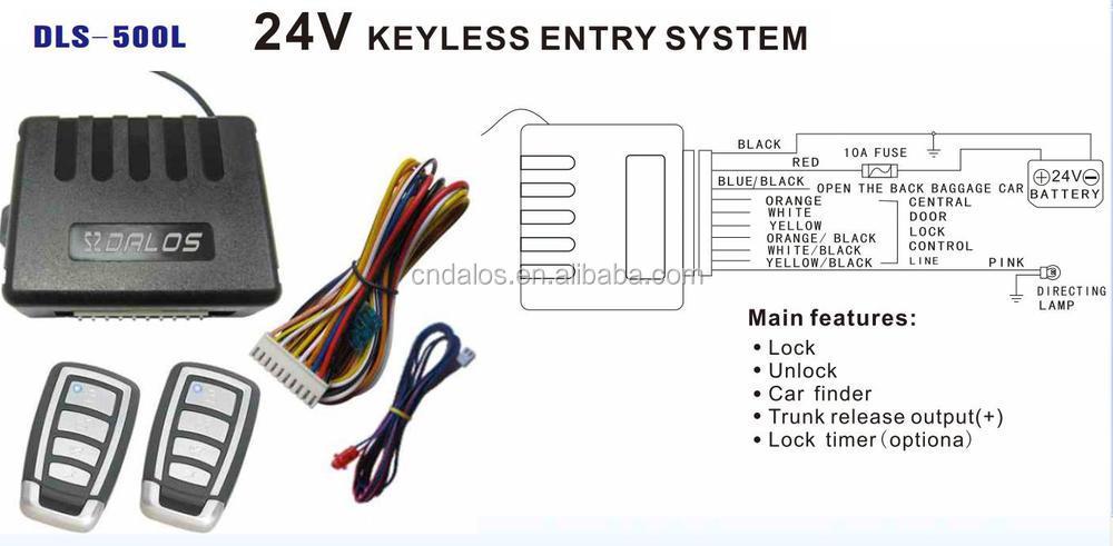car alarm system manual one way remote control universal