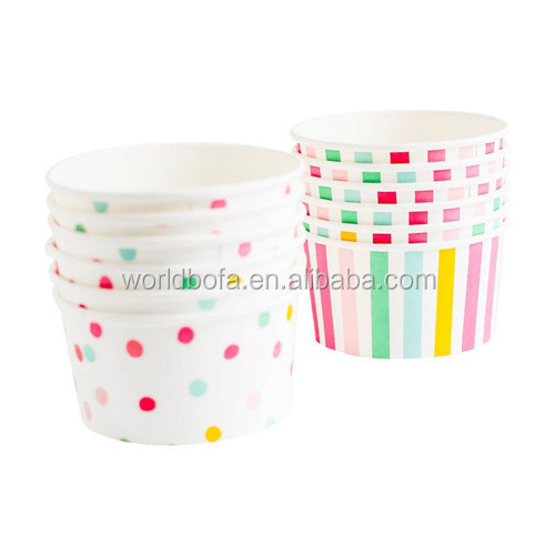 Alibaba best sellers Disposable small hot ice cream paper cups