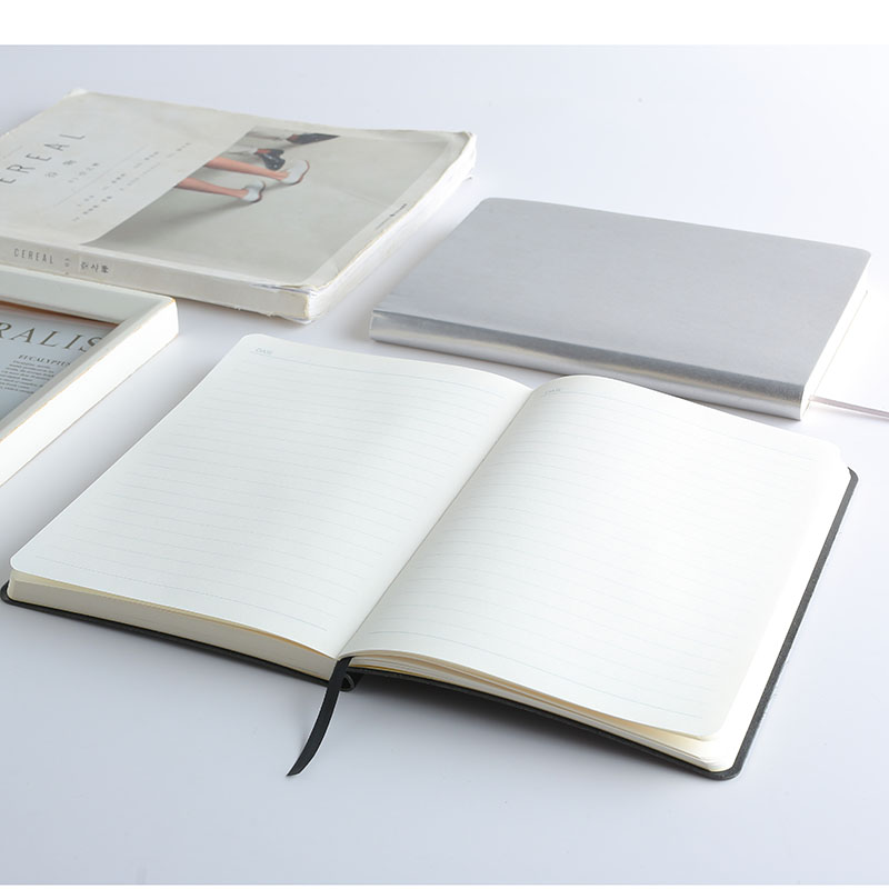 A5 classical custom pu leather diary personalized hardcover notebook with elastic band for gift notebook