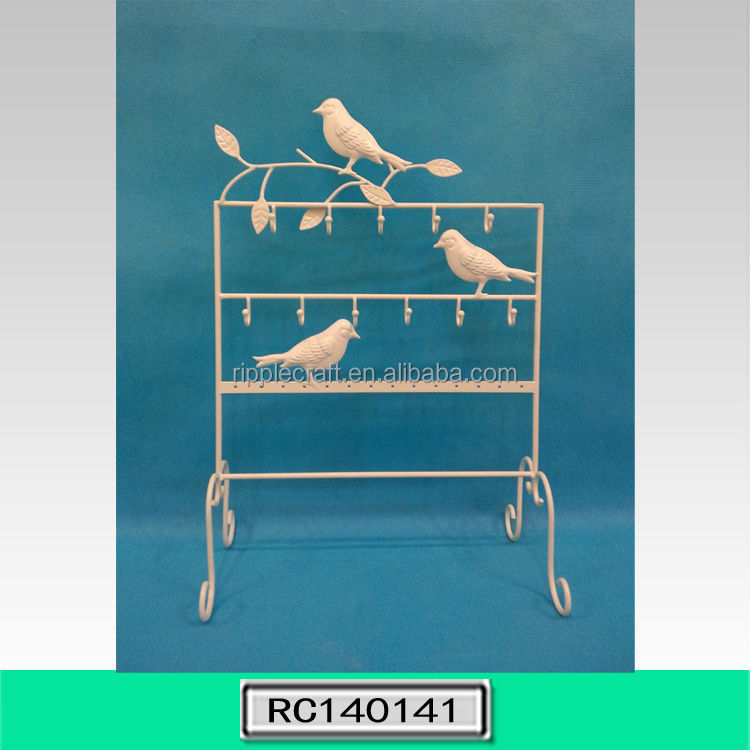 Hot Selling Decorative Metal Jewelry Holder Earring Display Stand