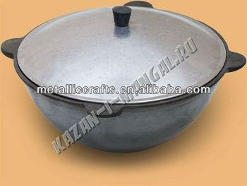 12 L Russische Gusseisen Kessel Kazan Aluminium Topf Mit Deckel ...