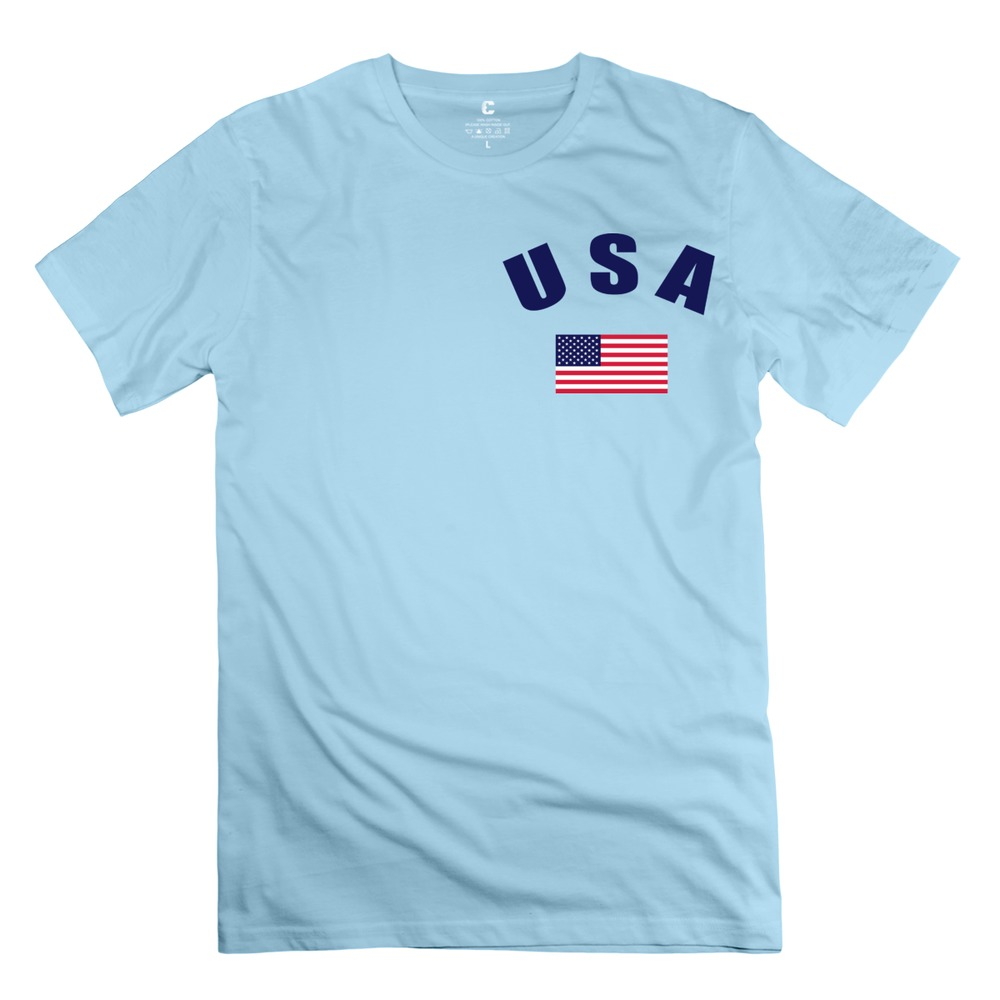 When looking at our USA shirts, you will find options for both men and women in several styles. With options ranging from tank tops to button-ups and polos, finding the right looks for your event or preferences is easy.