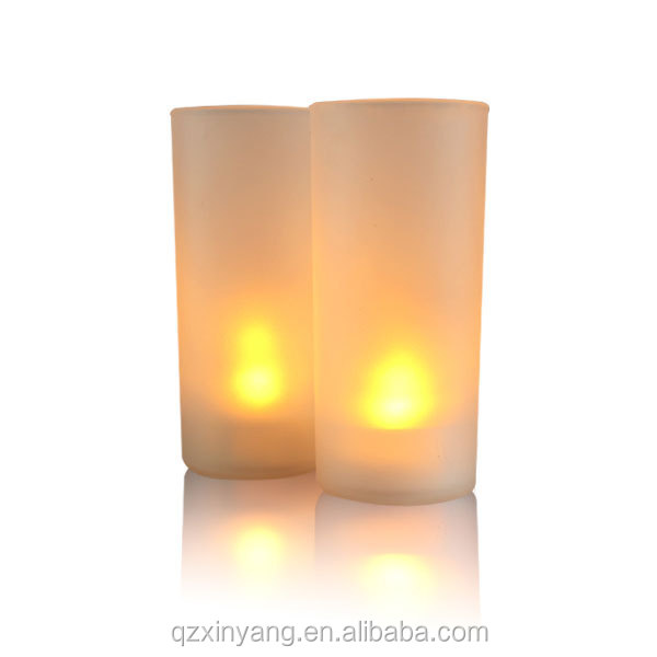 2015 Craft LED Candle Gift Cup Christmas Decorations candle Holder