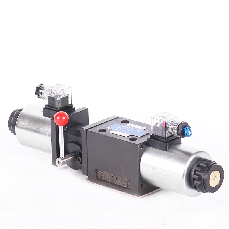 4WEMM10 Hydraulische rexroth pomp onderdelen ventiel met handmatige solenoid controle