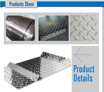 Factory Price Of Aa1100 O H24 5 Bar Embossed Aluminum Stair Tread ...