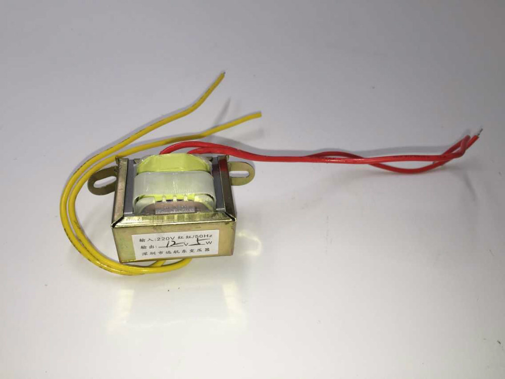 high voltage toroidal step down transformer 220v 230v 12v 1000va 12V 5W