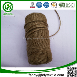 Factory supplier multi functions biodegradable natural 1 ply sisal jute  twine