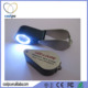 Gem identification jewelers loupe/Jewellery Illuminating Magnifier Loupe / Magnifying Glass with LED Light and uv light