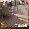 Eco-friendly and duarble interlocking outdoor flooring wpc decking tile