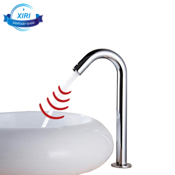 Auto Faucet Automatic Sensor Washbasin Faucet Touchless Infrared Ray  Induction Bathroom Tap 8727a - Buy Auto Faucet,Automatic Sensor Washbasin