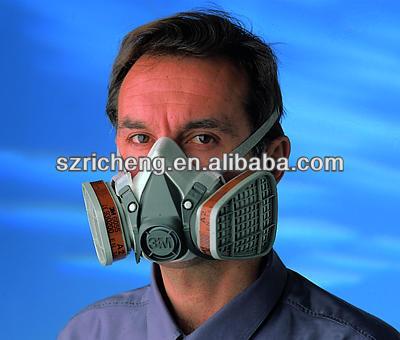 3m 6200 Mask Half Mask Anti-virus,Dust Mask,Anti Gas Mask With ...