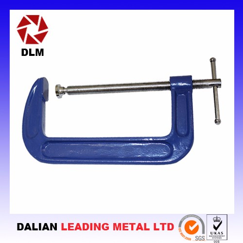 Woodworking C Clip G clamp with Forged Steel frame more size