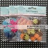 Scrapbooking accessories felt flowers for paper craft