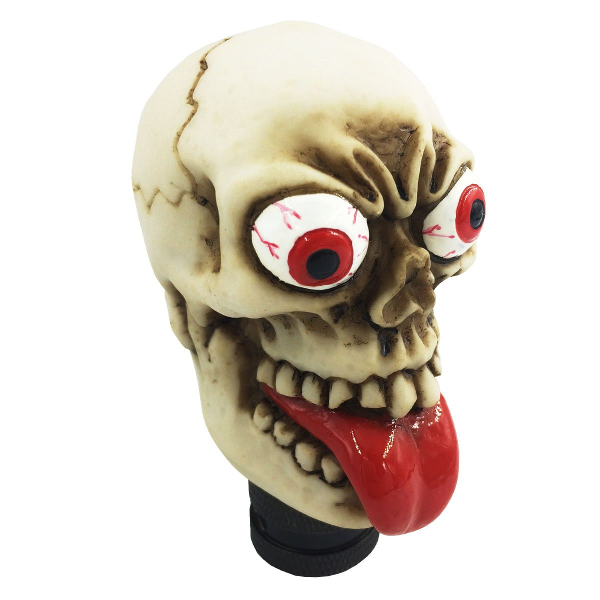 Abfer Skull Gear Stick Shift Knob Automatic Manual Shifter Knobs For Car Truck