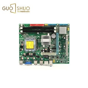 High quality G945+ ICH7 2 Quad Cpu LGA 775 Servers motherboards