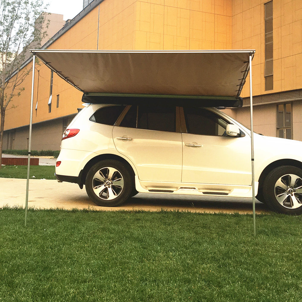 Outdoor Use Waterproof Car Roof Retractable Side Awning ...