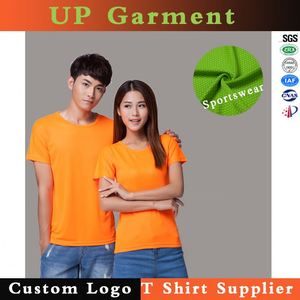 New green polymesh sublimation t shirts plus size