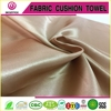 Polyester garment white shiny satin/poly satin fabric for dress