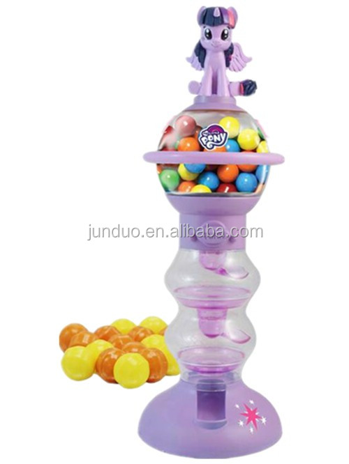 Chocolat Bonbons Gumball Distributeur Mignon Kawaii Doux Poney Figure De Dessin Animé Buy Machine à Gumballfigurine Danimation De