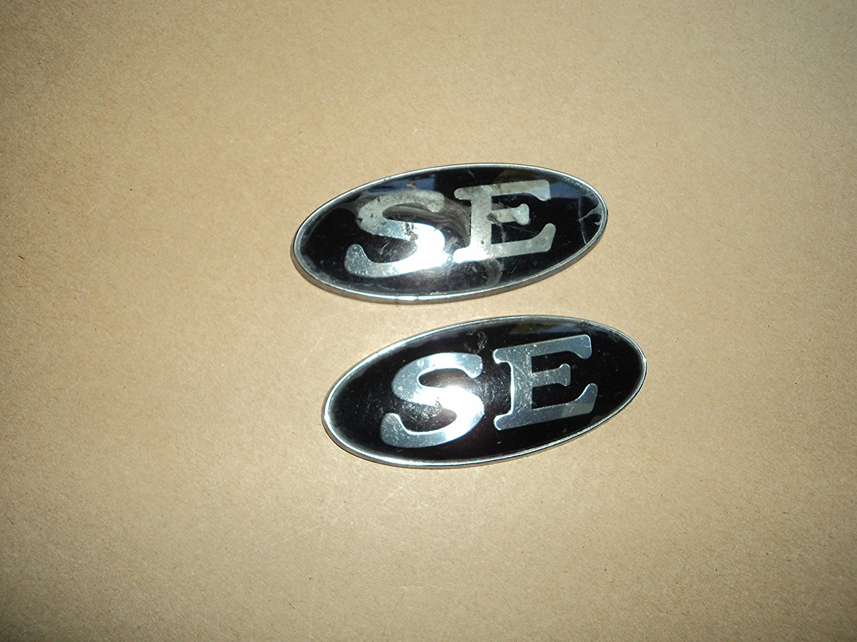 OEM Factory Genuine Stock Ford SE fender Used emblem badge decal logo Escort Taurus set