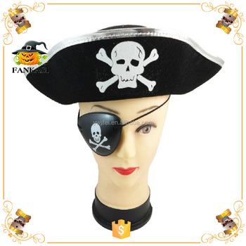 Siyah Cadılar Bayramı Korsan şapkası Desen Kafatası Satılık Buy