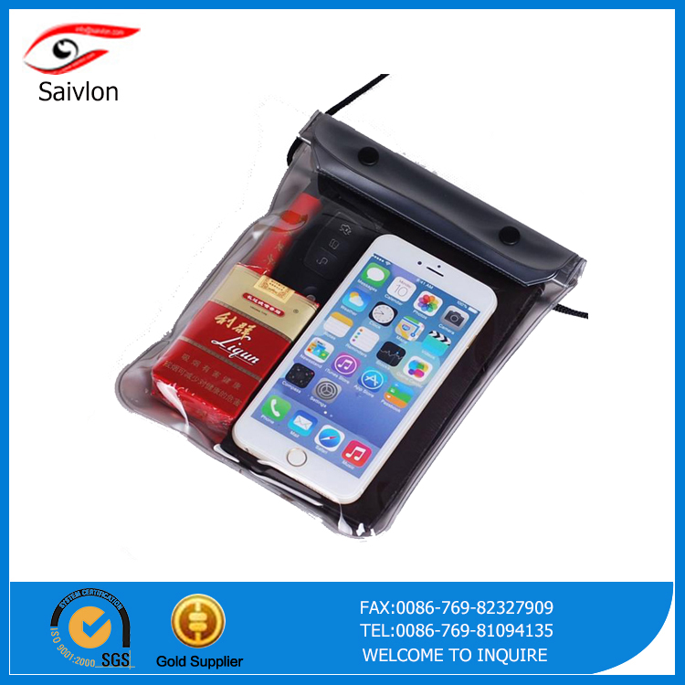 PVC  waterproof phone bag