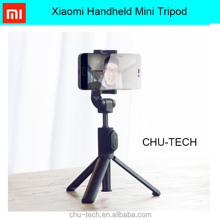 MI Handheld Mini Tripod 3 in 1 Self-portrait Monopod Phone Selfie Stick Bluetooth Remote Shutter