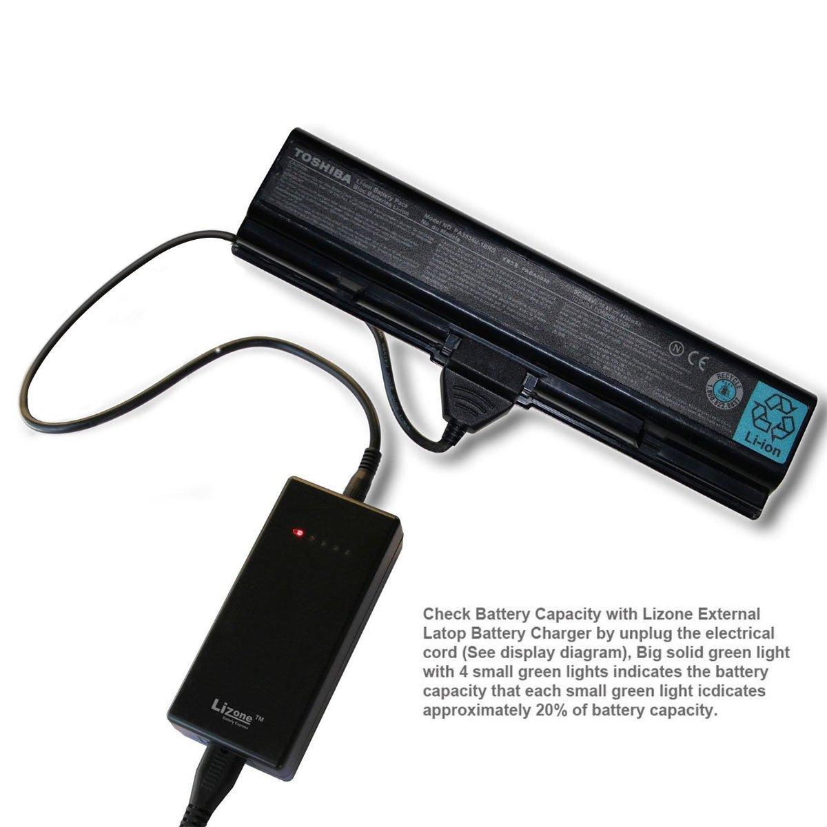 Cheap 11 Pa Find Deals On Line At Alibabacom Wiring Diagram For Gateway Laptop Battery Get Quotations Lizone External Charger Toshiba Pa3534u Pa3535u Pa3634u Pa3635 Pa5023u Pa5024u Pa5025u Pabas 117