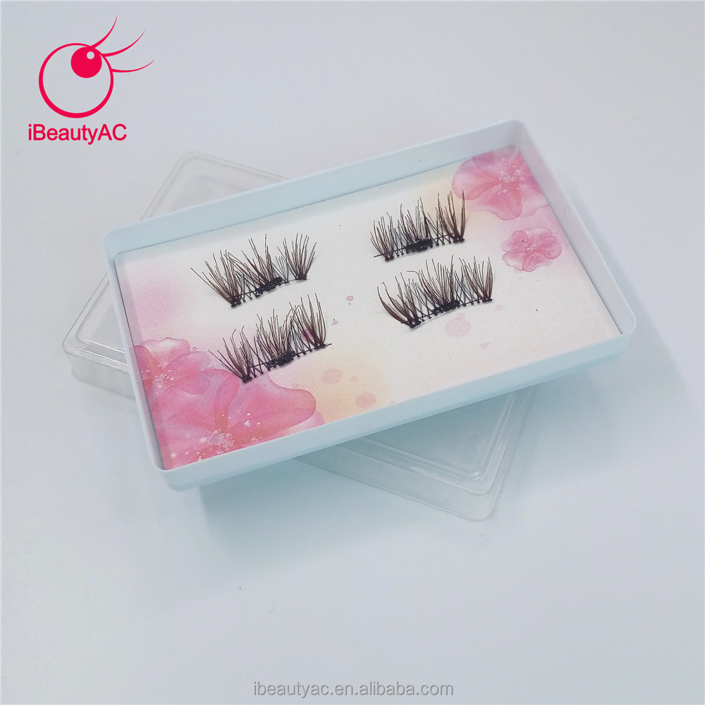 2017 Hot Sells Magnetic Eyelashes Popular Magneric With Magnetic Box